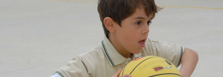 Lebensfreude - ein gute entwickelter Gleichgewichtssinn lässt Sport zum Spaß werden.